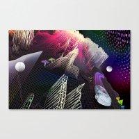 Moonlight Drive Canvas Print