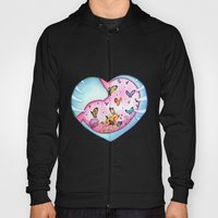All a Flutter Hoody