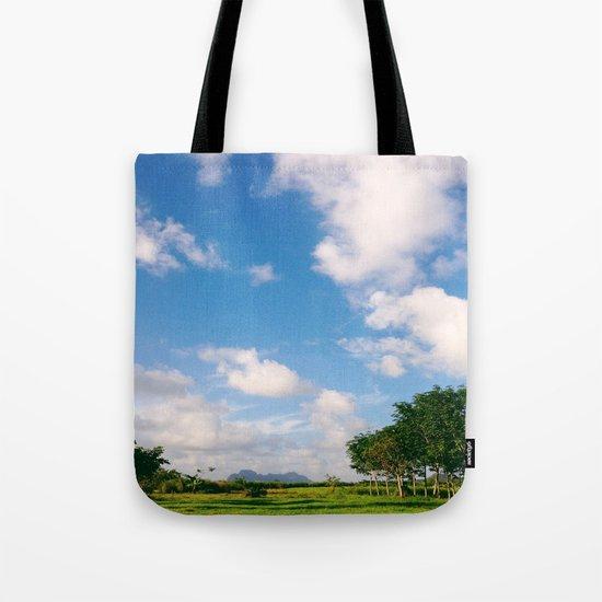 Nostalgic Sky Tote Bag