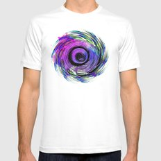 MAGADHA Mens Fitted Tee SMALL White