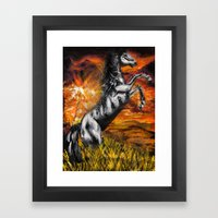 It's always sunny in philadelphia, charlie kelly horse shirt, black stallion Framed Art Print