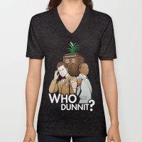 Who Dunnit? Unisex V-Neck