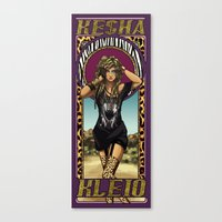 The Muse of Celebration Canvas Print
