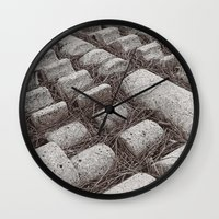 Pine Needles Wall Clock