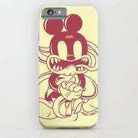 iPhone & iPod Case featuring Junkie Mouse by Johnny Cobalto