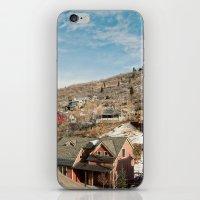 Ski Town 2 iPhone & iPod Skin