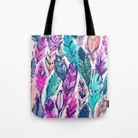 WILD FEATHERS Tote Bag