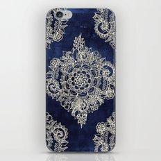 Cream Floral Moroccan Pa… iPhone & iPod Skin