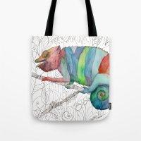 Chameleon Fail Tote Bag
