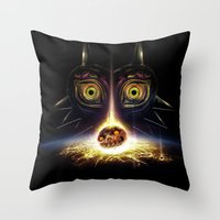 Majora's Mask Operation … Throw Pillow