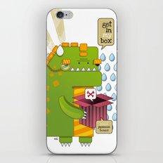 Godzilla get´s hungry!!! iPhone & iPod Skin