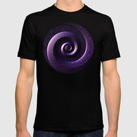 Nagini's Coils Mens Fitted Tee Black SMALL