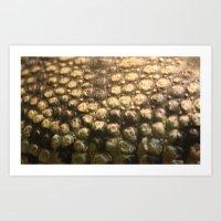 Croc Abstract I Art Print