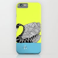 iPhone & iPod Case featuring Ugly Swan by lush tart