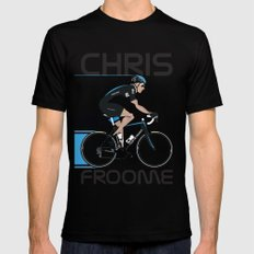 Chris Froome SMALL Mens Fitted Tee Black