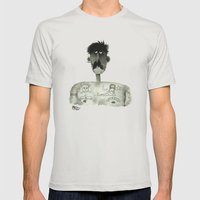 Remember Mary Mens Fitted Tee Silver SMALL