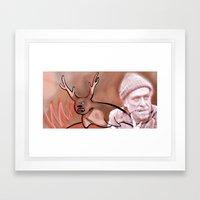 Sealalope Screams Bukowski Framed Art Print
