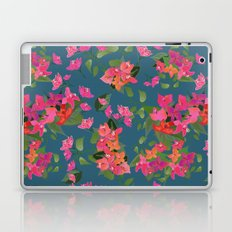 April blooms(Bougainvillea_blue) Laptop & iPad Skin