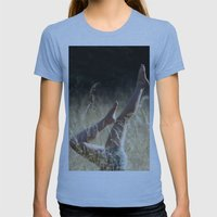 Fromwhereihandstand Womens Fitted Tee Athletic Blue SMALL
