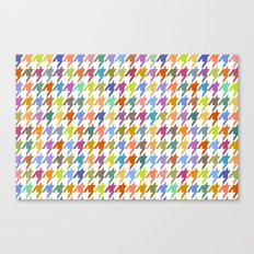 Houndstooth!  Canvas Print
