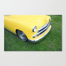 Collection series-Yellow Canvas Print