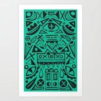 Sagacity  Art Print
