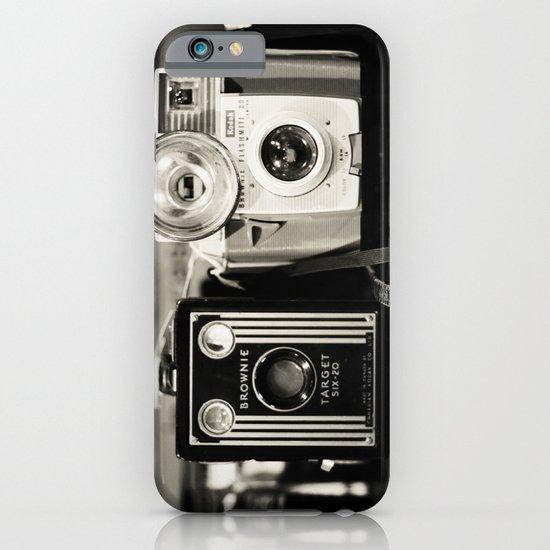 A pair of Kodak Brownies  iPhone & iPod Case