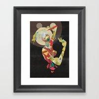 broken n.2 Framed Art Print