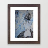 Man Ray inspired Framed Art Print