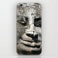 Bayon temple iPhone & iPod Skin