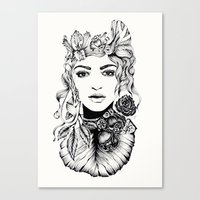 Nature Woman  Canvas Print