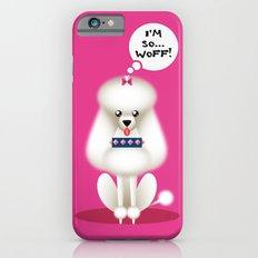 Chic Poodle Slim Case iPhone 6s