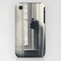 iPhone 3Gs & iPhone 3G Cases featuring Le Kitty  by Laura Ruth