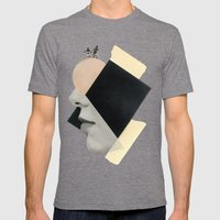 All the Sun That Shines Mens Fitted Tee Tri-Grey SMALL