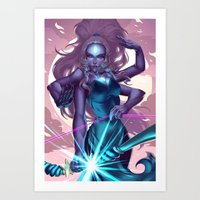 Giant Woman Art Print
