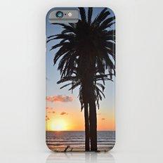 Southern California Sunset Palm Tree iPhone 6 Slim Case