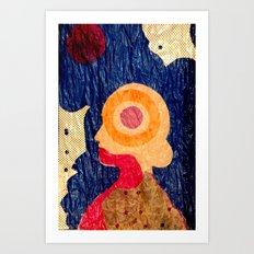 Mind Map II Art Print
