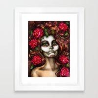 Victoria Rose Framed Art Print