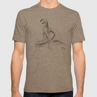 Lumi Mens Fitted Tee Tri-Coffee SMALL