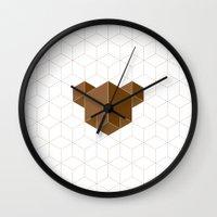 Cubear Wall Clock