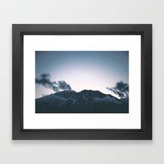 Mount Saint Helens II Framed Art Print