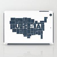U S of A iPad Case
