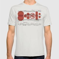 lasciate sia Mens Fitted Tee Silver SMALL