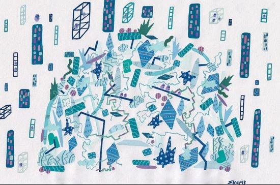 Transparent Age, Something Wild Art Print