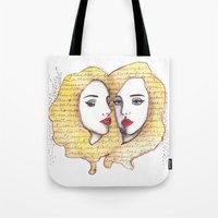 We are there for each other.  Tote Bag