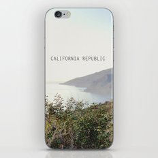 california republic iPhone & iPod Skin