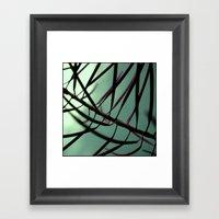 Plant. Framed Art Print