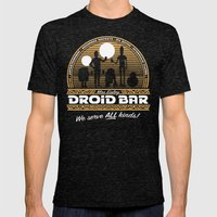 Droid Bar Mens Fitted Tee Tri-Black SMALL