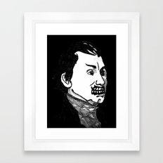 05. Zombie James Monroe Framed Art Print