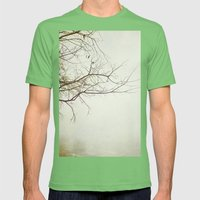 Escaping Into Your World Mens Fitted Tee Grass SMALL
